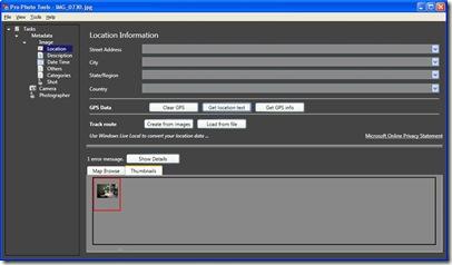 Microsoft Photo Tools Screenshot