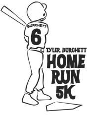 Logo for Tyler's Home Run 5k